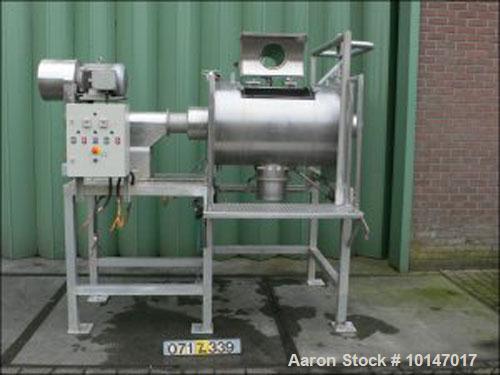 Used- Stainles Steel Fairfield Dalton Powder Turbo Mixer. T-arms,79 gallon