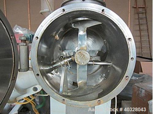 Used-Imcatec GmbH Plow Mixer, Type IM-E50-MS