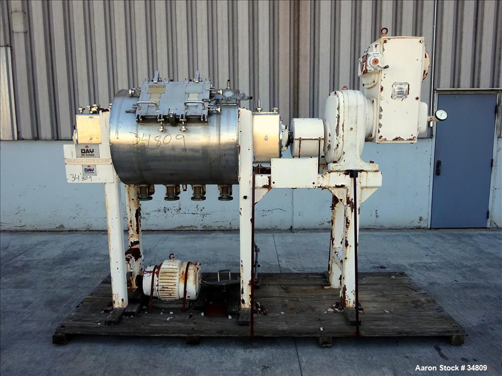 Unused- Stainless Steel J.H. Day T-15 Turbulent Mixer