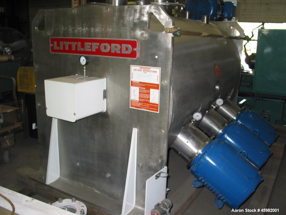 Used- Littleford Plow Mixer, Model FKM2000E