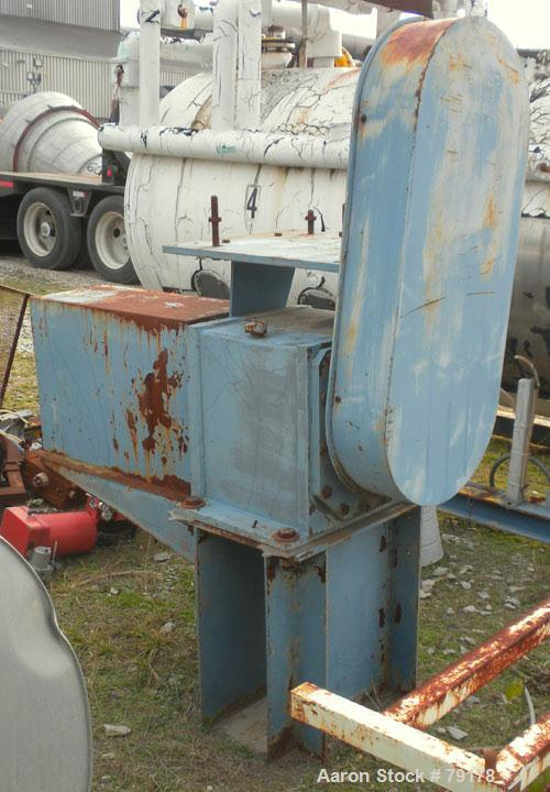 Used- Stainless Steel Littleford Vacuum Plow Mixer/Dryer, 4000 Liter Capacity, Model VT-4000