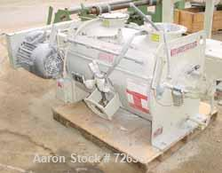 USED: Littleford plow mixer, FKM300D batch type. 10 cu ft totalcapacity. 6 cu ft working. 304 stainless steel. Chamber 24-7/...