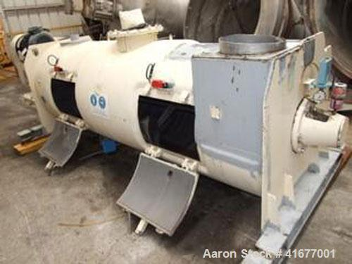 Used-Lodige FKM 2000 D Plow Mixer. 530 gallon (2000 liter) capacity, with 32 hp (25 kW) motor. Built 1971.