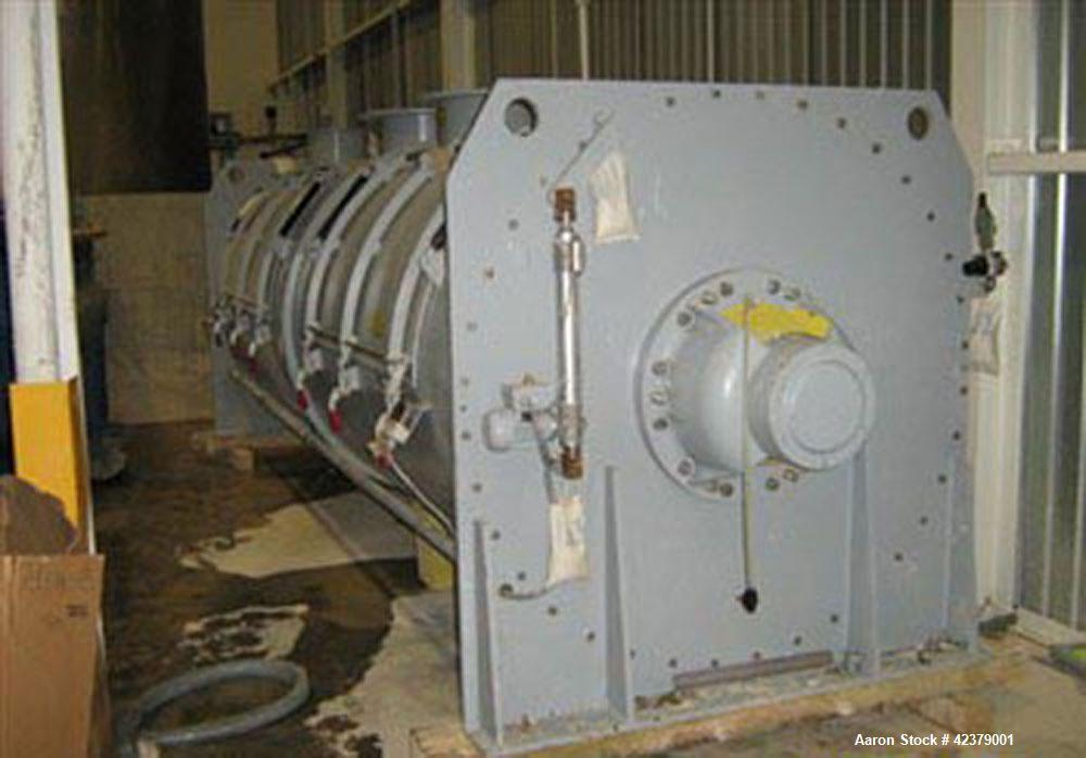 Unused-Lodige Batch Mixer, Model FKM10000D. 10,000 liter capacity, working capacity from 4,000 - 7,000 liters, stainless ste...