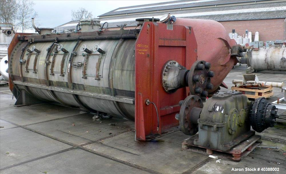 Used- Lodige Plow Mixer, Type FKM15000D-12ZF