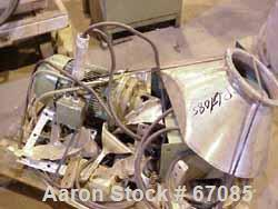Used- Stainless Steel Lodige Plow Mixer, Type FKM450