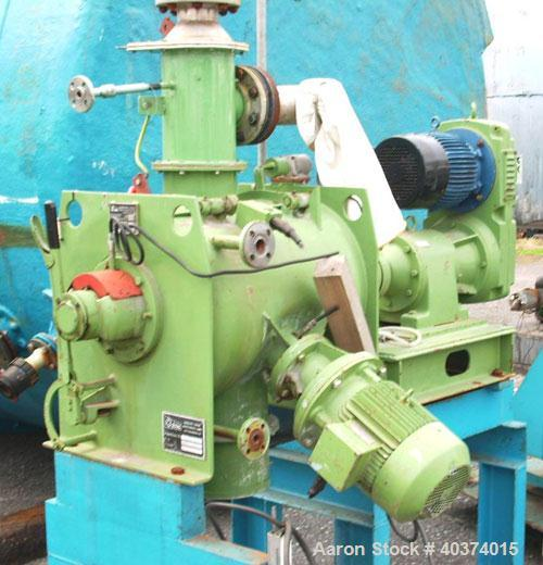 Used-Lodige Ploughshare Batch Powder Mixer, type FM130D1MZ