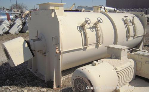 Used- Stainless Steel Lodige Continuous Plow Mixer, Model KM6000D