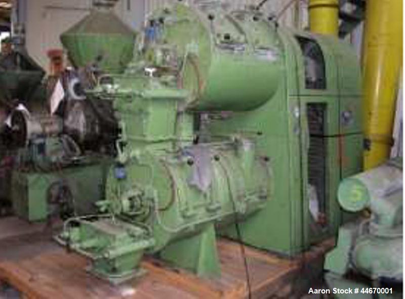 Used-Lodige Mixer.  Maximum capacity 6.3 cubic feet (180 kilos)