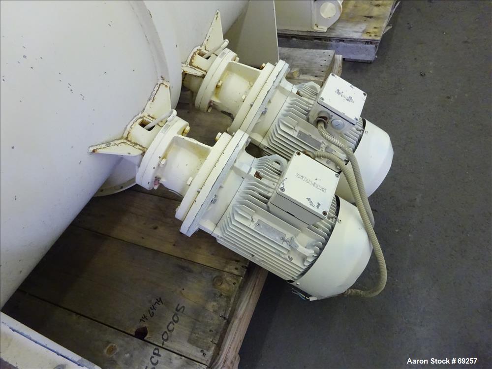 Used- Lodige Model FKM600D Plow Mixer, Batch Type