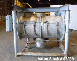Used- Stainless Steel Littleford Plow Mixer, Model FKM-1200E