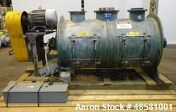 Used- Littleford Plow Mixer, 304 Stainless Steel.