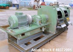 Used-Lodige mixer, type FKM2000D/2ZF. Material of construction is stainless steel on product contact parts, Total capacity 7...