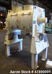 Used- Lodige Mixer, Model FKM600D, 304 Stainless Steel.