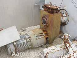 Used- Stainless Steel Morton Machine Batch Type Plow Mixer, Model FKM-3000D