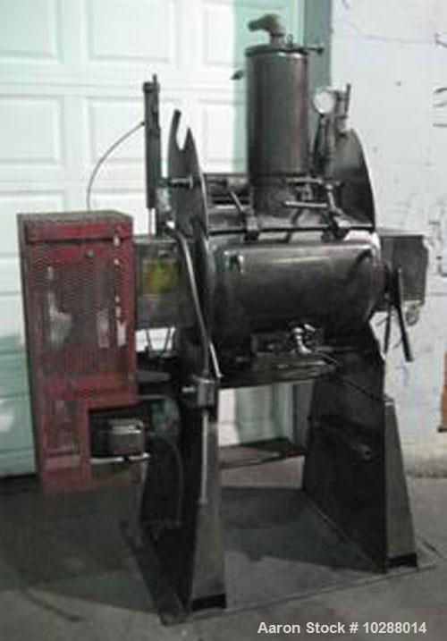 Used-Processall Mixer/Dryer, Model 140H, 140 liter