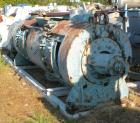 Used- Littlford Batch Type Plow Mixer, Model FKM1200D, 304 Stainless Steel. 26.1 cubic feet working capacity (43.4 total). C...