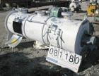 USED: Littleford plow mixer, model FKM1200D, batch type. 26.1 cubic foot working capacity, 43.4 total, 316 stainless steel. ...