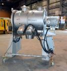 Used- Stainless Steel Littleford Batch Type Plow Mixer, Model FKM600-D