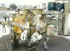 Used- Littleford Plow Mixer, Model FKM600D, 304 stainless steel. 11 cubic feet working capacity, 21.2 total. 30