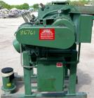 USED: Littleford plow mixer, model FM-130-D, 304 stainless steel. 3 cubic feet working capacity, 4.6 total. Carbon steel jac...