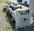 Used- Stainless Steel Lodige FKM 1200D Plow Mixer, 26 Cubic Feet Working Capacity