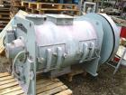 Used-Lodige-Morton plow mixer, model FKM600D-2Z. Material of construction is stainless steel on product contact parts. Appro...
