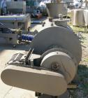 Used- Lodige Plow Mixer, Model H600, 304 Stainless Steel. 11 Cubic feet working capacity, 21.2 total. 32
