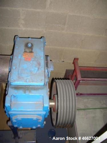 Used- Drais Plow Mixer/Dryer, Type TK 400. 321 SS. Total capacity is 14.12 cubic ft. (400 liter), working capacity 10.6 cubi...