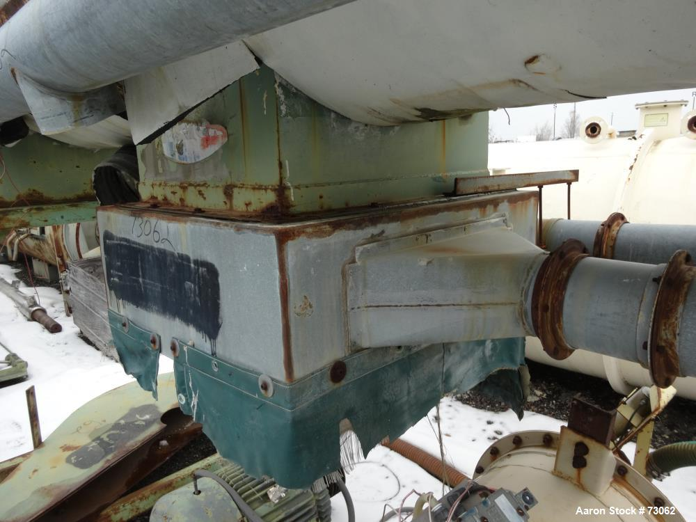 Used- Stainless Steel Welex 1200 Liter Cooler/Mixer, Type 1200HC