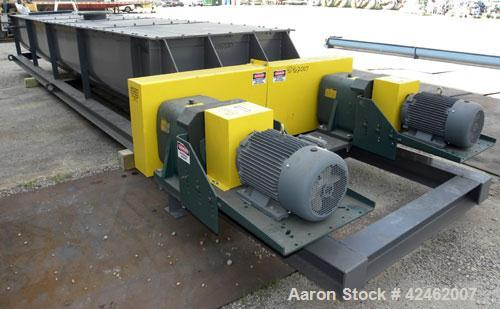 Unused- Carbon Steel Pugmill Systems Pugmill, Model 50M