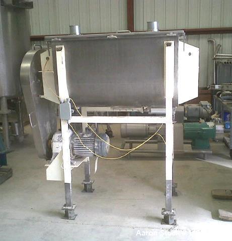Used- Stainless Steel Ribbon Blender
