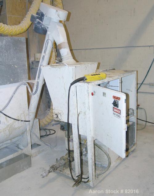 USED: Hoge Warren Zimmerman Mason Flo Mixer, model 250-A, carbon steel. Designed to produce cement and plaster slurries auto...