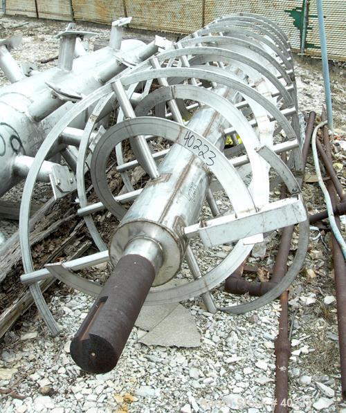 Used- Stainless steel Ribbon Agitator