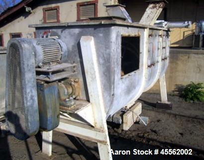 Used-Ribbon Blender, 100 Cubic Feet, Stainless Steel