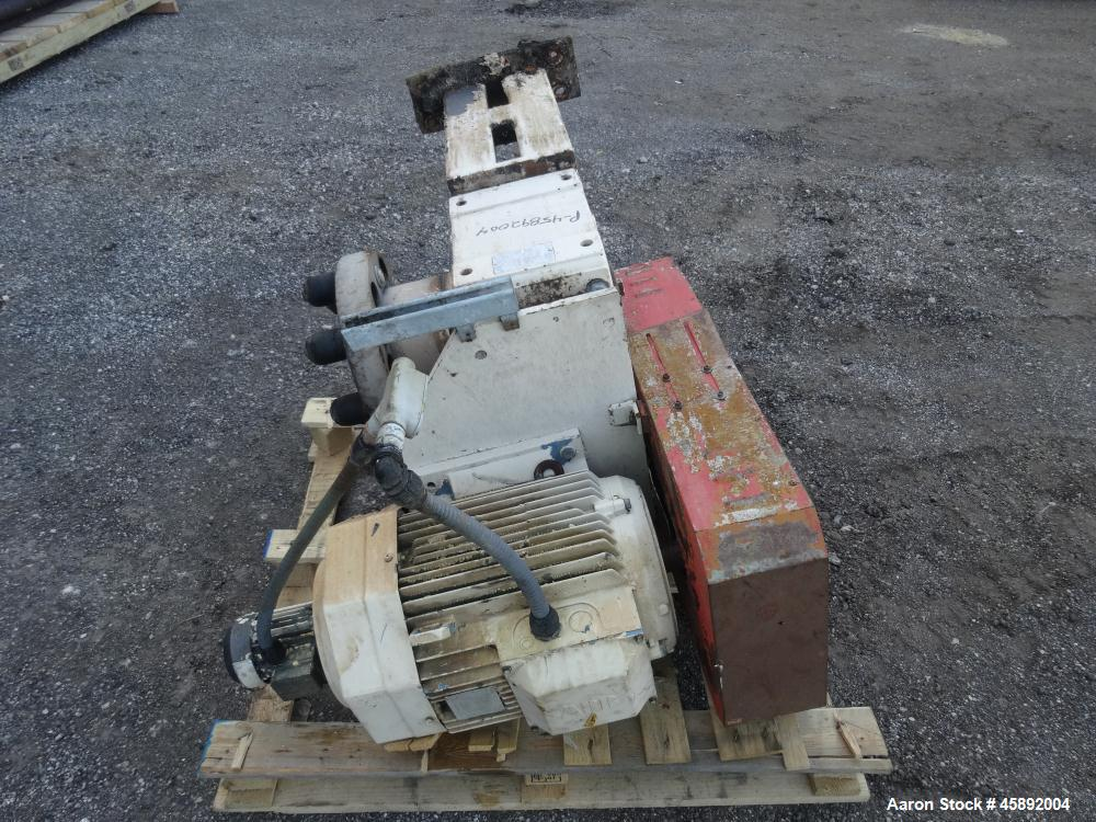 Used- MAP s.r.l Double Spiral Ribbon Blender, Approximate 65 Cubic Feet, 304 Stainless Steel. Carbon steel dimple jacketed t...