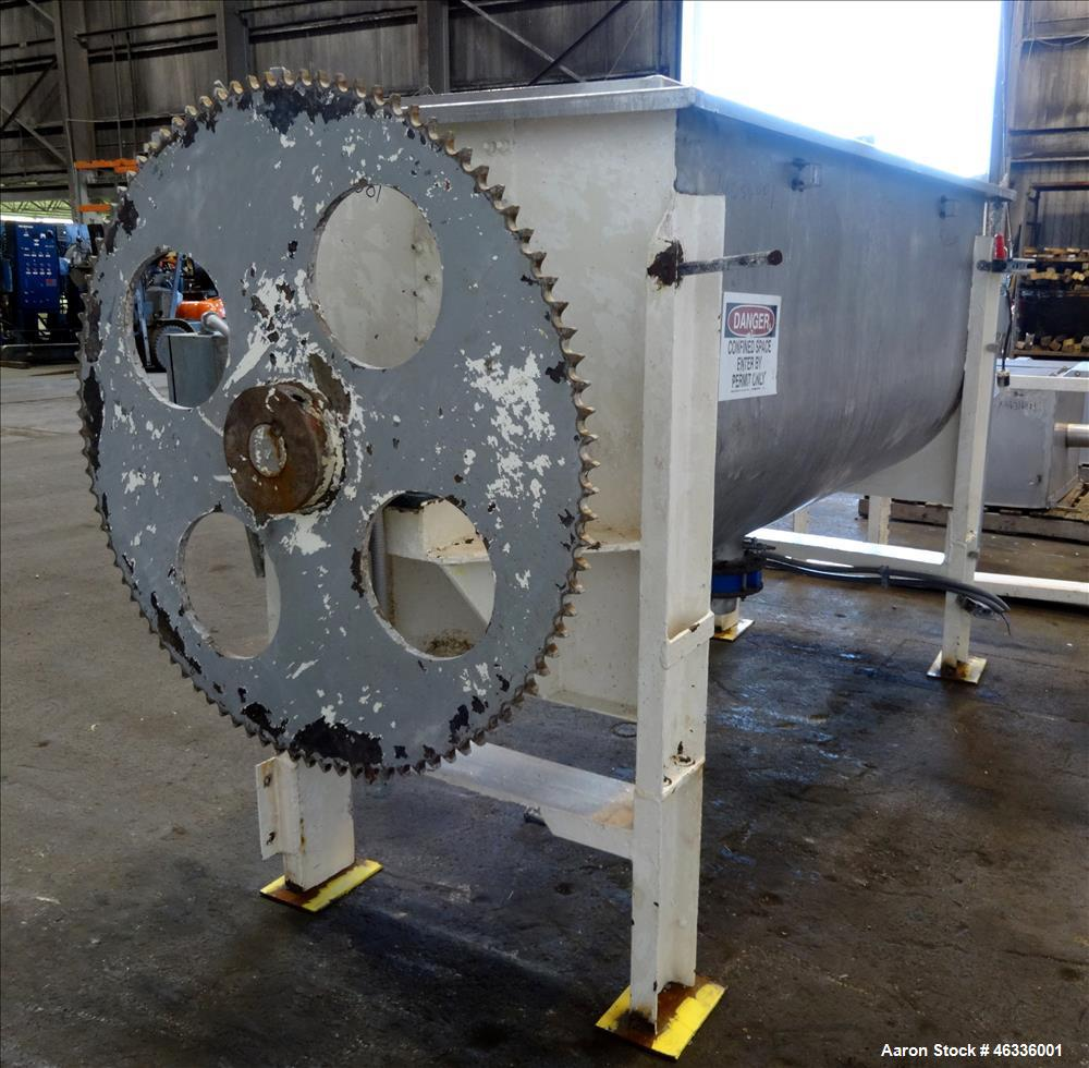Used- Ribbon Blender, 304 Stainless steel.