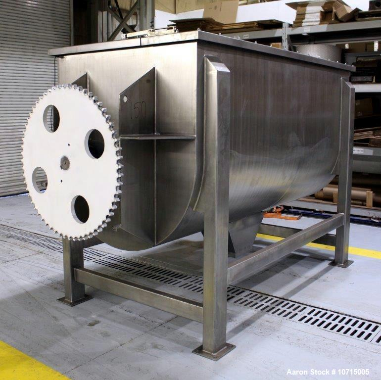 NEW- Aaron Process Model IMB-150. 150 Cubic Foot Ribbon Blender.
