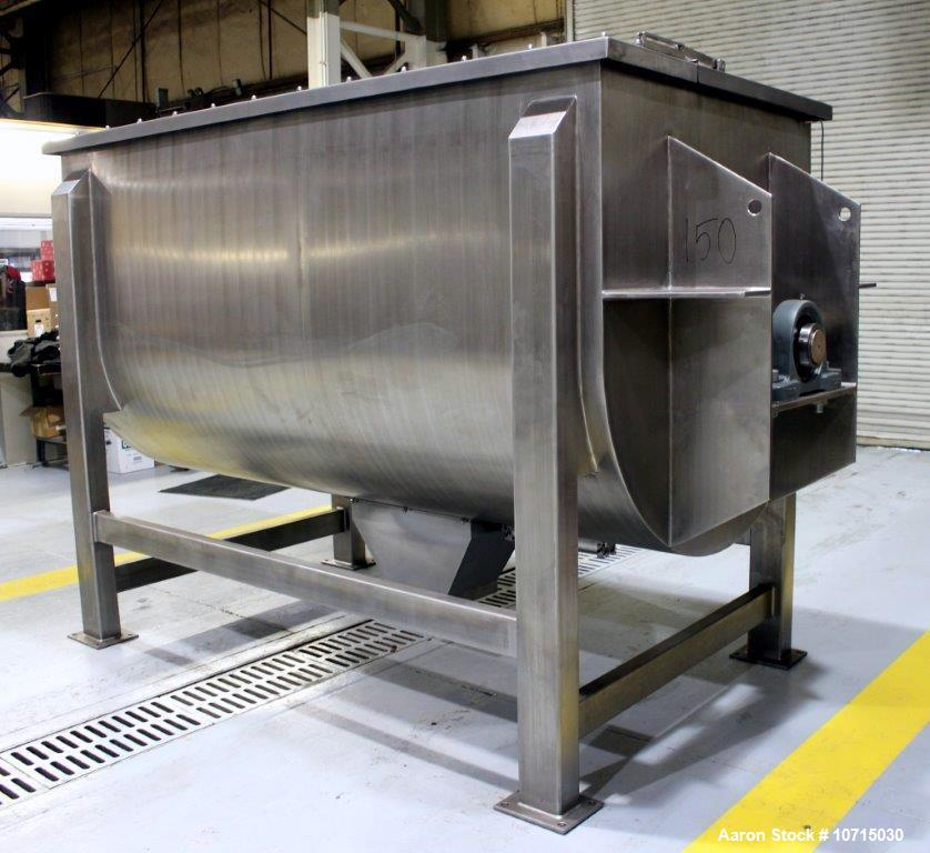 New- Paul O. Abbe Model IMB-150, 150 Cubic Foot working capacity Ribbon Blender.