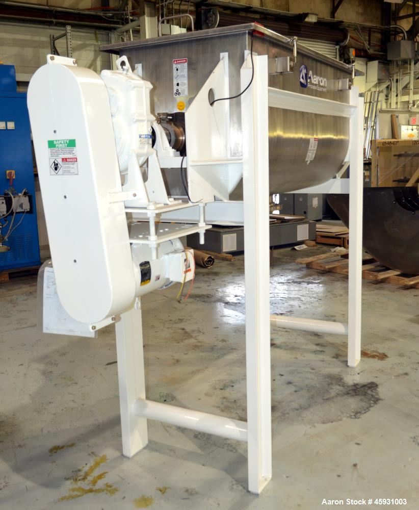 Unused- Aaron Process Double Spiral Ribbon Blender