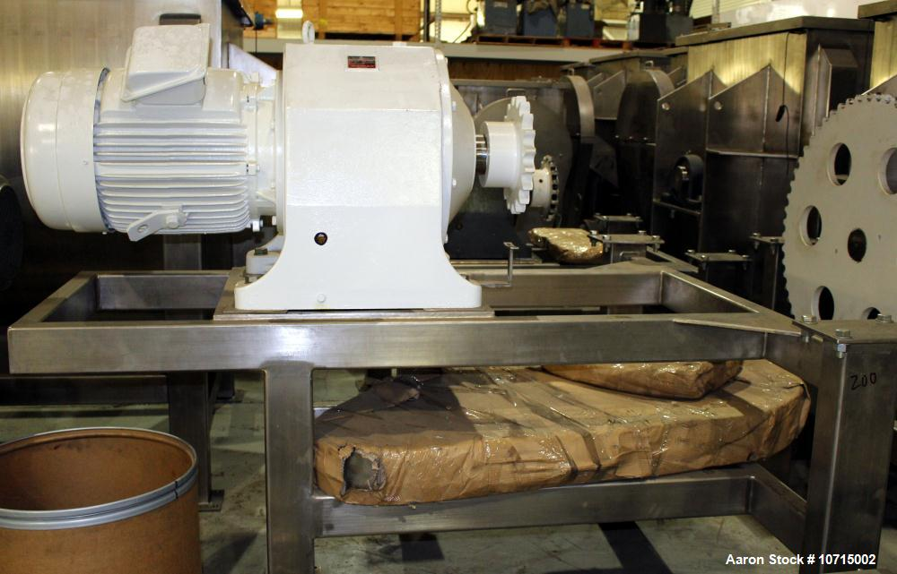 NEW- Aaron Process Model IMB-200. 200 Cubic Foot Ribbon Blender.