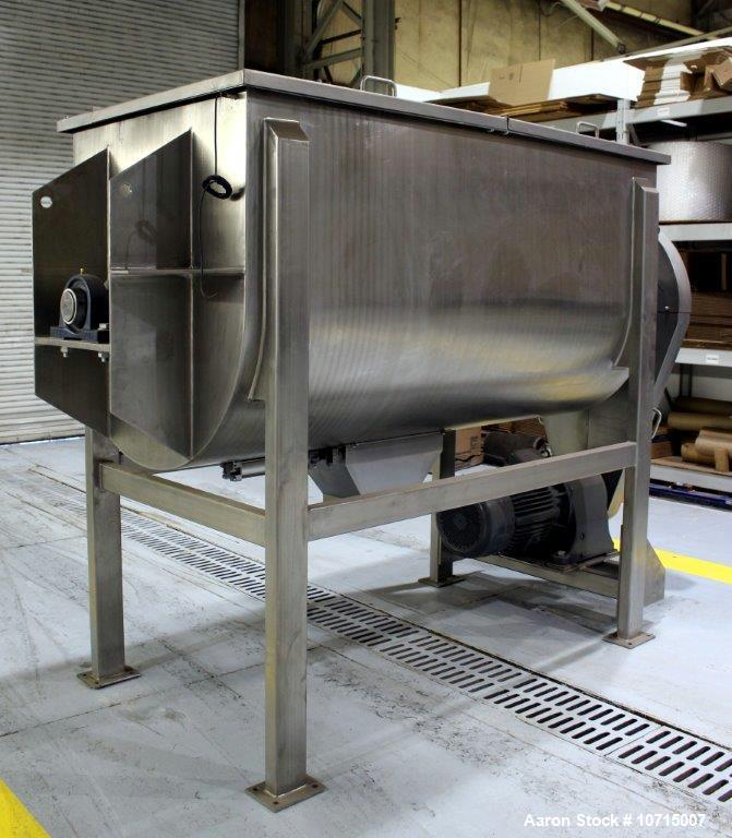 New- Paul O. Abbe Model IMB-75, 75 Cubic Foot working capacity Ribbon Blender.