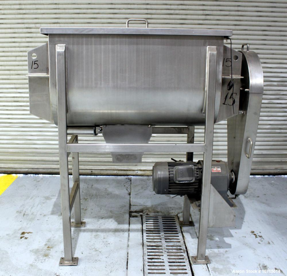 NEW- Paul O. Abbe Model IMB-15. 15 Cubic Foot Ribbon Blender.