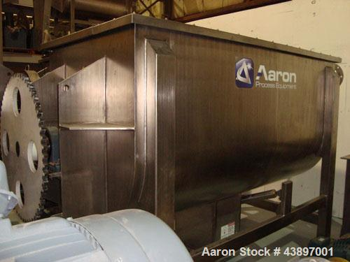 Unused-Aaron Process Equipment IMB 150 ribbon blender. 150 cubic foot working capacity, 175 cubic foot total capacity. Const...