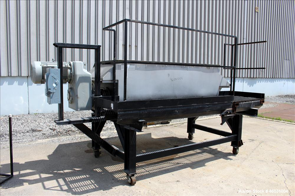 Used- American Process Equipment Ribbon Blender