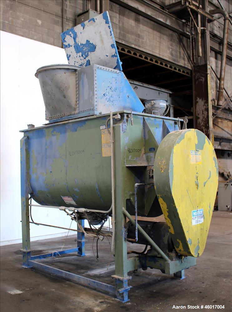 Used- American Process Ribbon Blender, Carbon Steel.