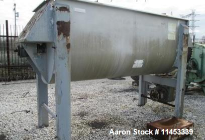 Used- American Process Ribbon Blender, Model DRB-120. Stainless steel with 50 HP drive, 120 cu. ft. working capacity. Stainl...