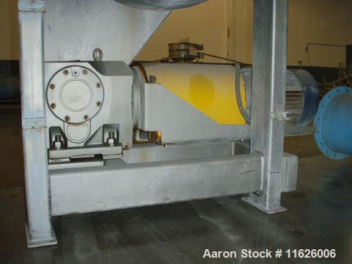 Used- American Process DRB-120 Stainless Steel 120 Cubic Foot Ribbon Blender. Unit has 40 hp motor with SEW Eurodrive. Insid...