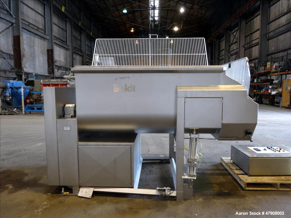 Used- Boldt Industries Paddle Blender, Model BFMA-3000, Approximate 3,000 Pound