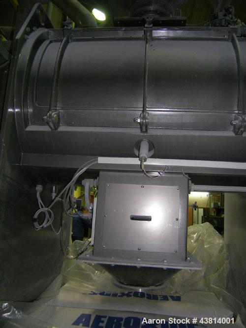 Used- Stainless Steel Gostol TM 630 SV Ribbon Mixer,